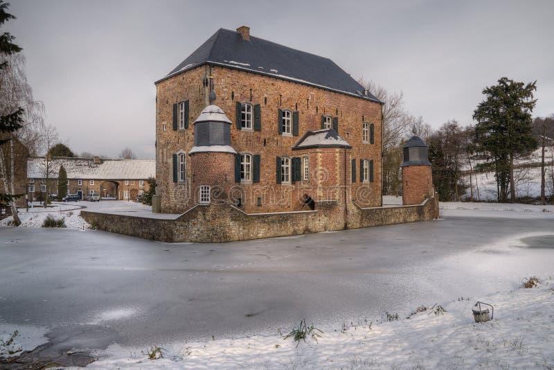 зима erenstein замока стоковая фотография
