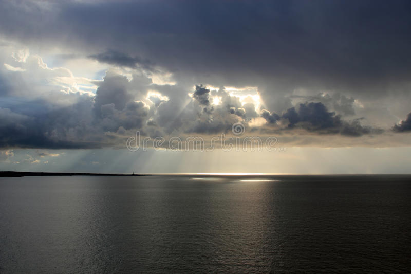 зима seascape стоковое изображение rf