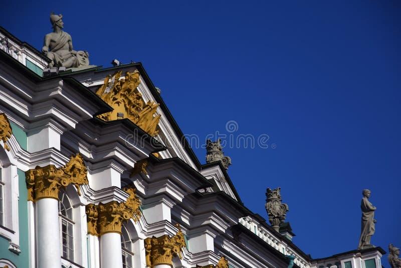 Зимний дворец музея обители в Санкт-Петербурге, России стоковые изображения