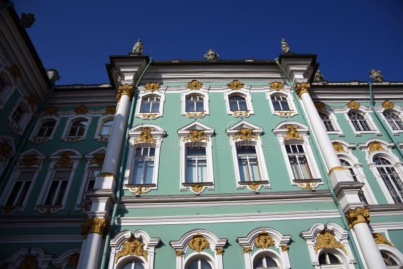 Зимний дворец музея обители в Санкт-Петербурге, России стоковое фото