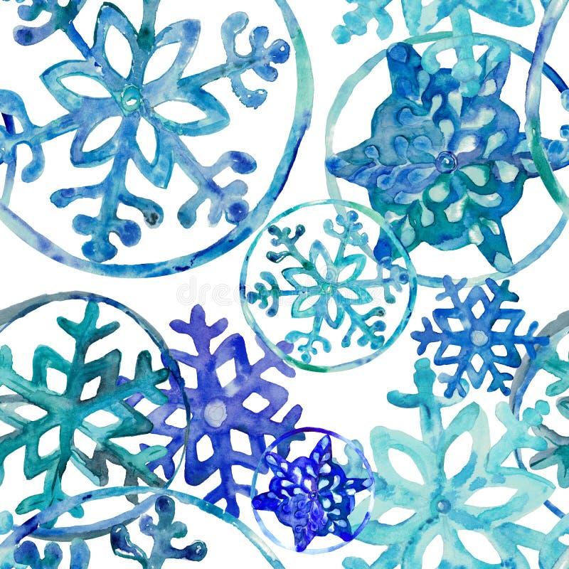 Зимний день с первым снегом бесплатная иллюстрация