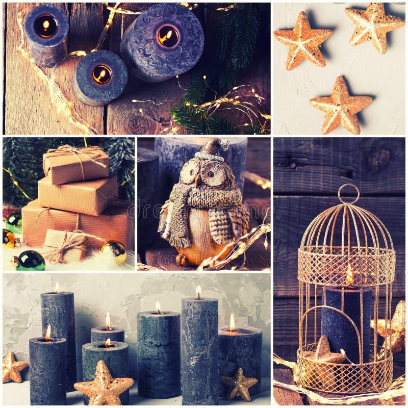 Зимний отдых, рождество, открытка Нового Года стоковое фото