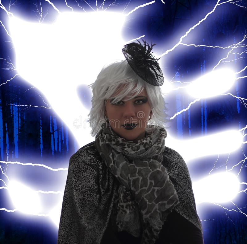 Злая ведьма стоковое изображение