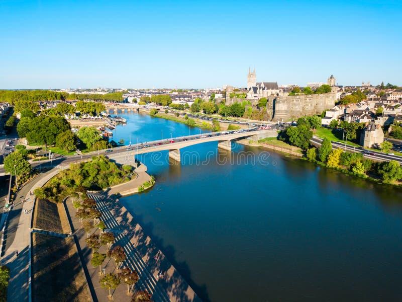 Злит воздушный панорамный вид, Францию стоковое изображение rf