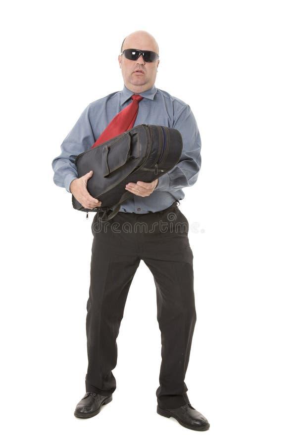 Злодейка или музыкант стоковое фото rf