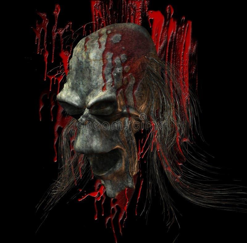 зло крови иллюстрация штока
