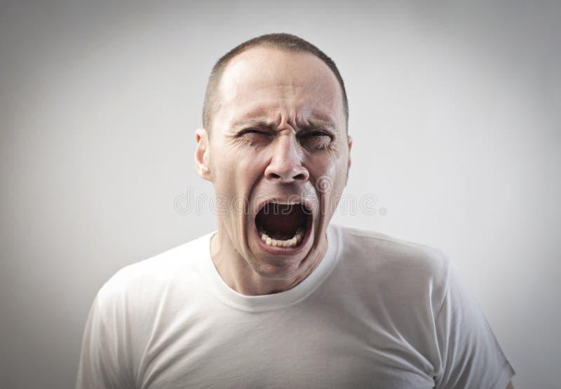 злющий человек стоковые изображения