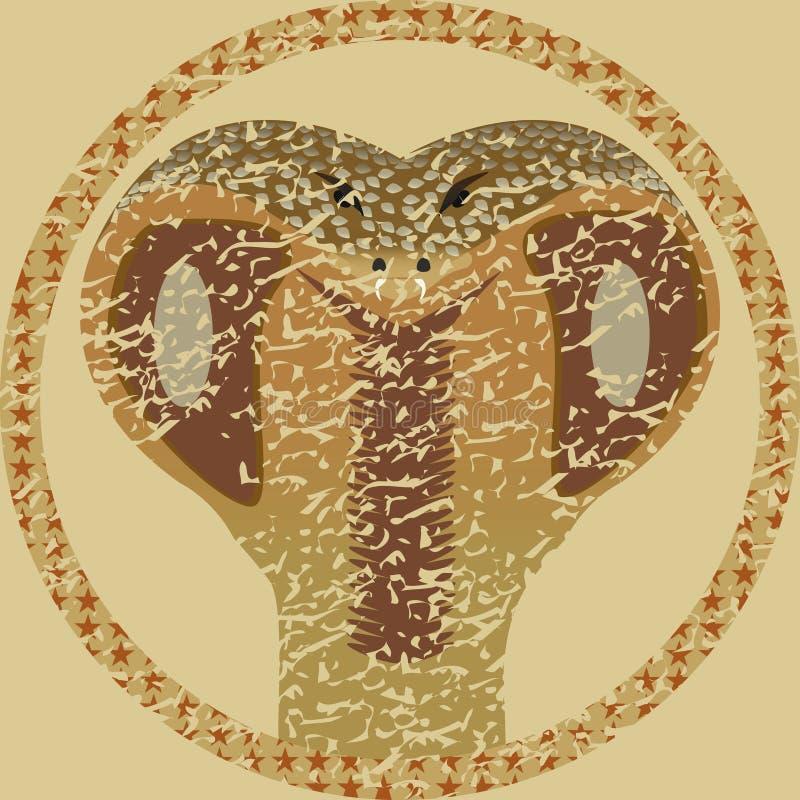 Змейка значка стоковая фотография rf