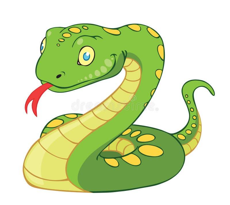 змейка иллюстрация штока
