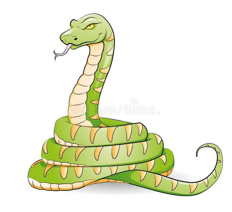 Змейка бесплатная иллюстрация