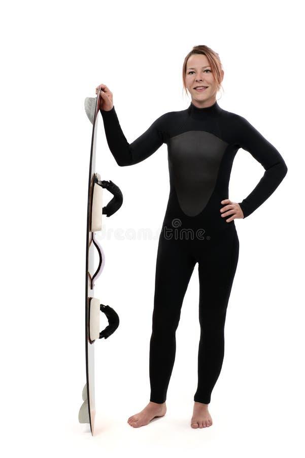 Зме-серфинг стоковое изображение rf