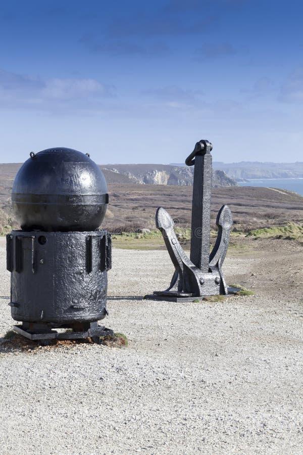 Знаки войны на атлантической стене стоковое изображение
