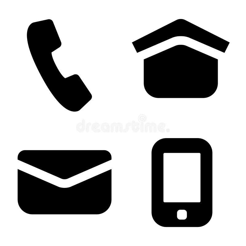 Знаки данным по контакта бесплатная иллюстрация