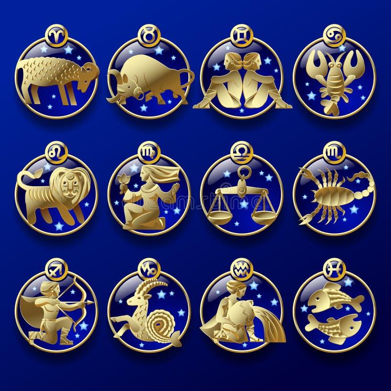 знаки зодиака картинки в золоте прикольные