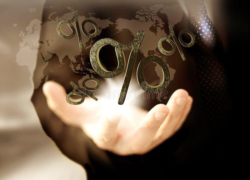 знаки профита доллара принципиальной схемы чалькулятора стоковое фото