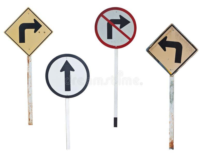 Знаки уличного движения стоковые изображения