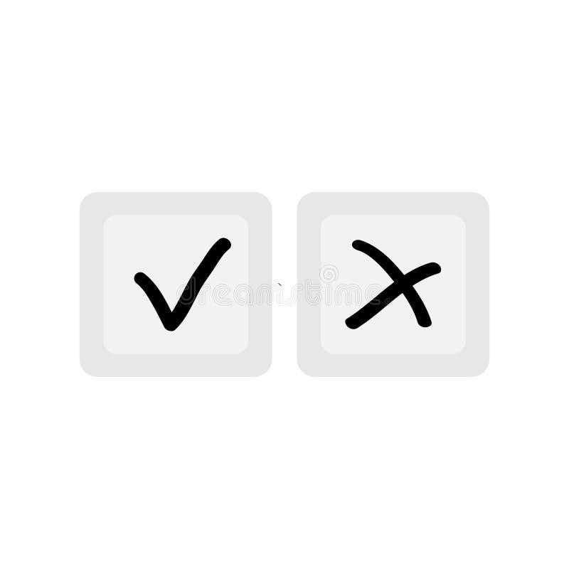 Знаки утверждений на квадратных дн иллюстрация штока