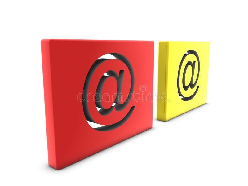 знаки электронной почты бесплатная иллюстрация