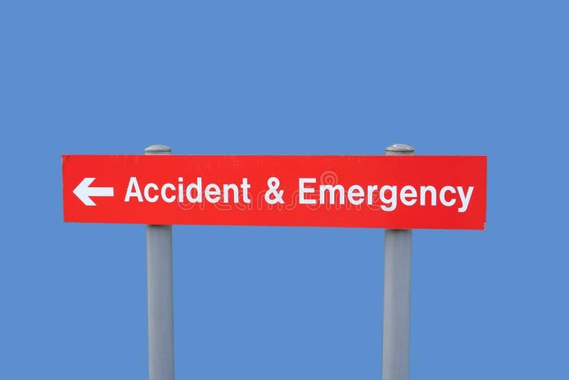 знак аварийной ситуации аварии стоковая фотография