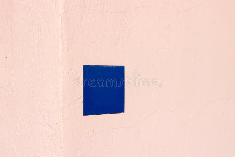 Знак адреса стоковая фотография