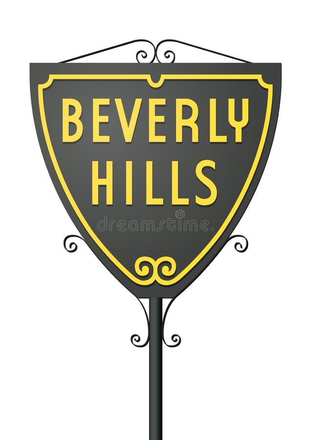 Знак Беверли-Хиллз бесплатная иллюстрация