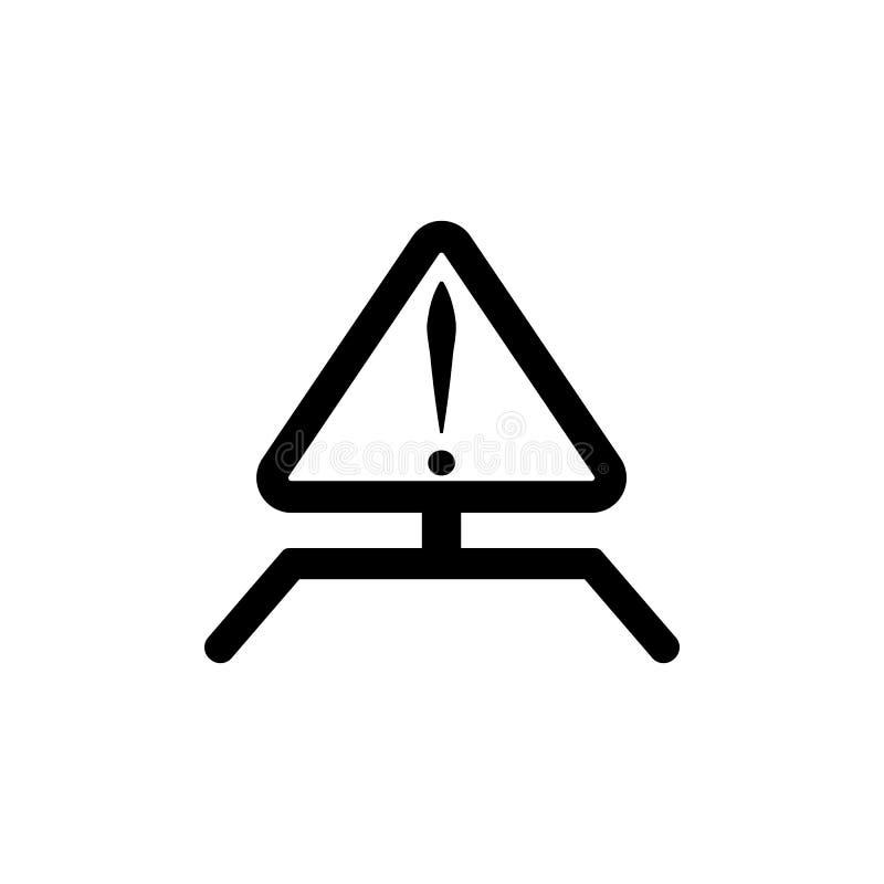 Знак внимания значка внимания Смажьте элементы значка газа Наградной качественный значок графического дизайна Простой значок для  иллюстрация штока
