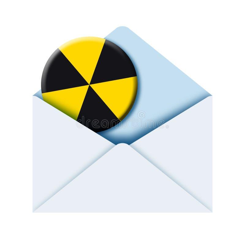 знак габарита радиоактивный иллюстрация вектора