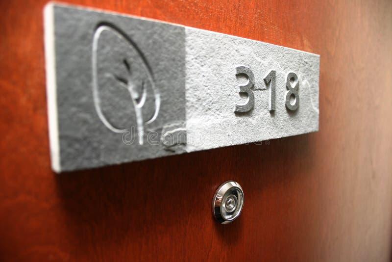 знак двери стоковая фотография rf