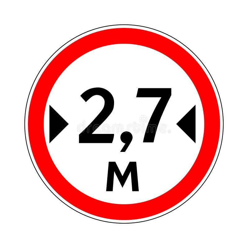 знак Движени-дороги бесплатная иллюстрация