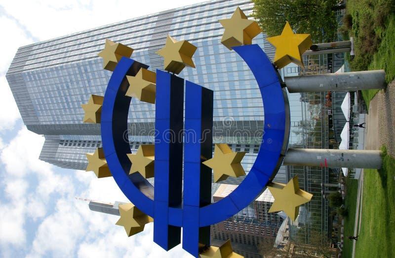 Знак евро евро  стоковая фотография