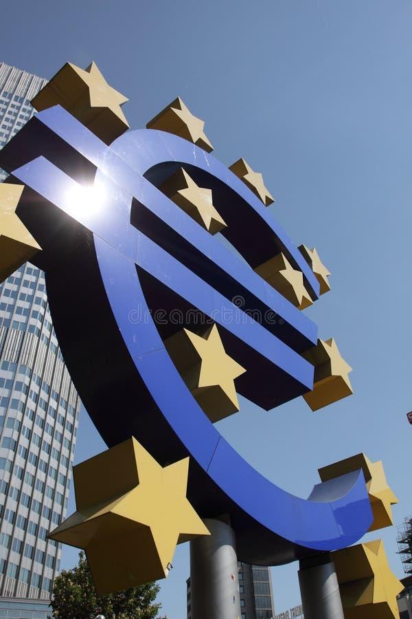 знак евро стоковые изображения
