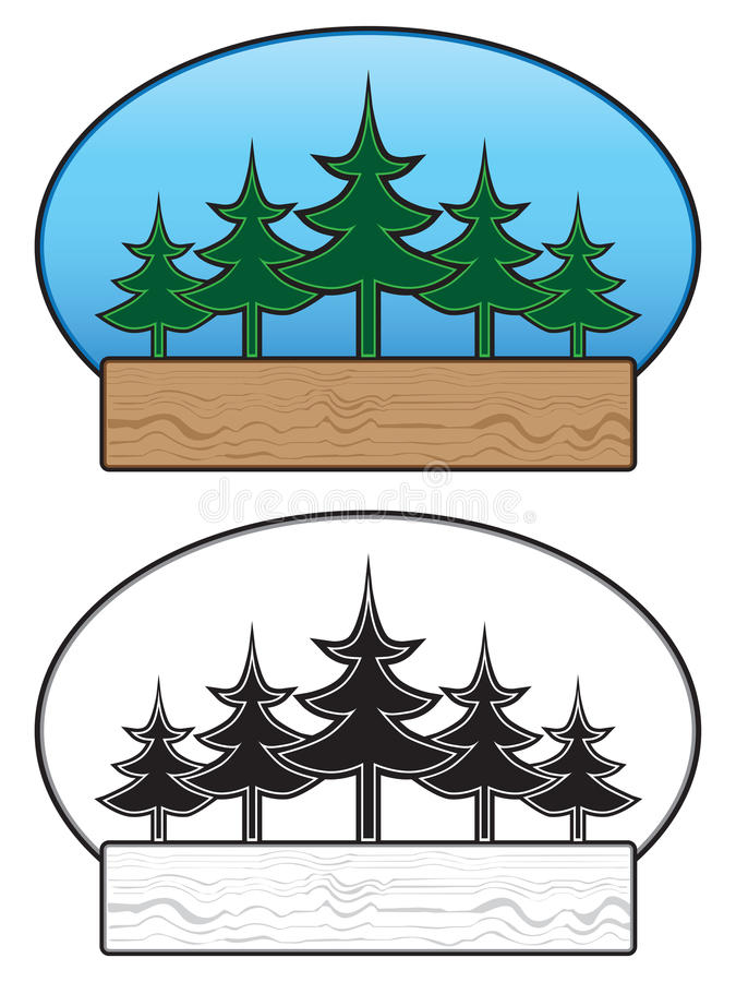 Знак дерева бесплатная иллюстрация