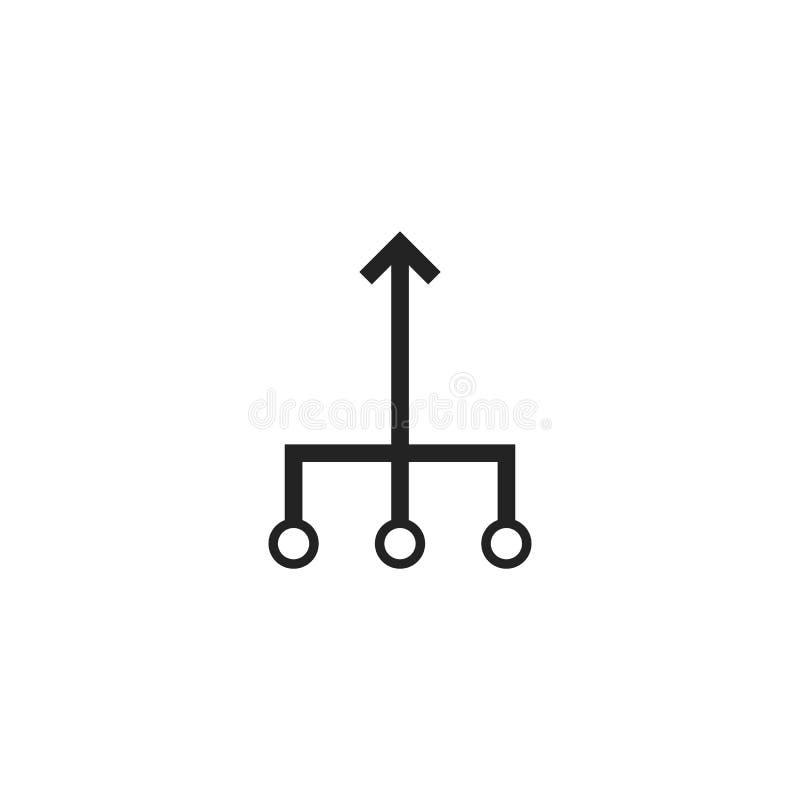 Знак значка консолидации бесплатная иллюстрация