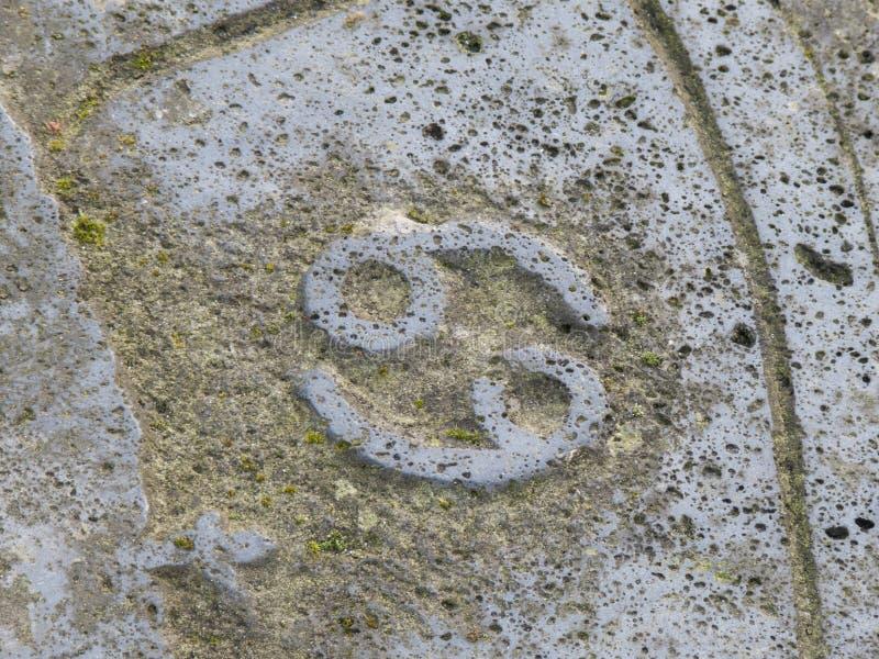 Знак зодиака - Карцинома стоковые фотографии rf