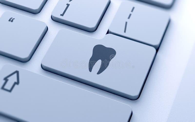 Знак зуба иллюстрация штока