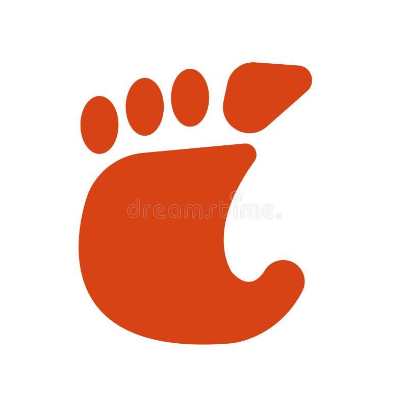 Знак и символ вектора значка гнома изолированные на белой предпосылке, концепции логотипа гнома иллюстрация вектора