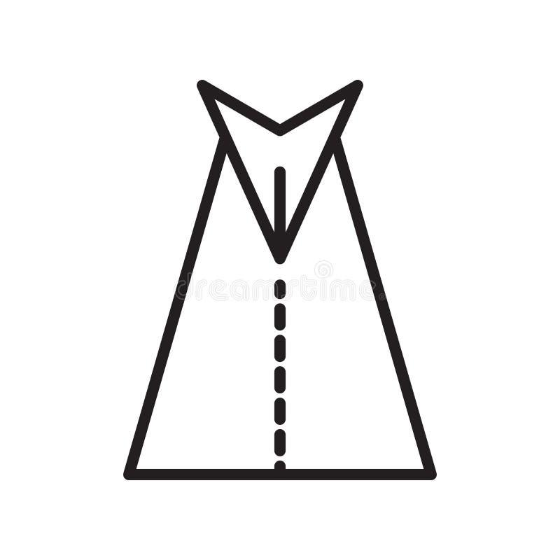 Знак и символ вектора значка дороги изолированные на белой предпосылке, r иллюстрация вектора