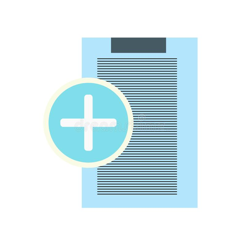 Знак и символ вектора значка страхования изолированные на белом backgrou бесплатная иллюстрация