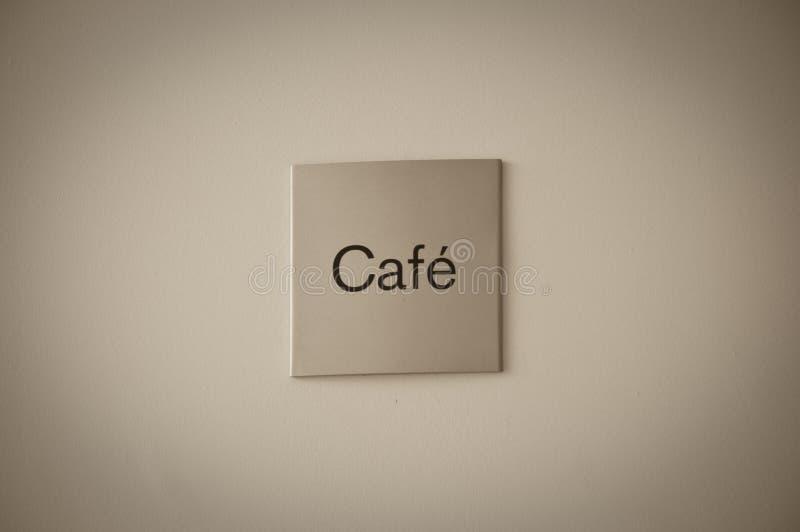 знак кафа стоковое фото