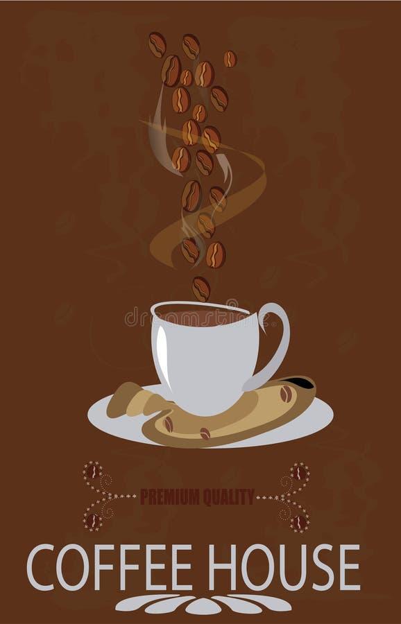Download Знак кофейни наградной качественный Стоковое Изображение - изображение насчитывающей горяче, качество: 41650307