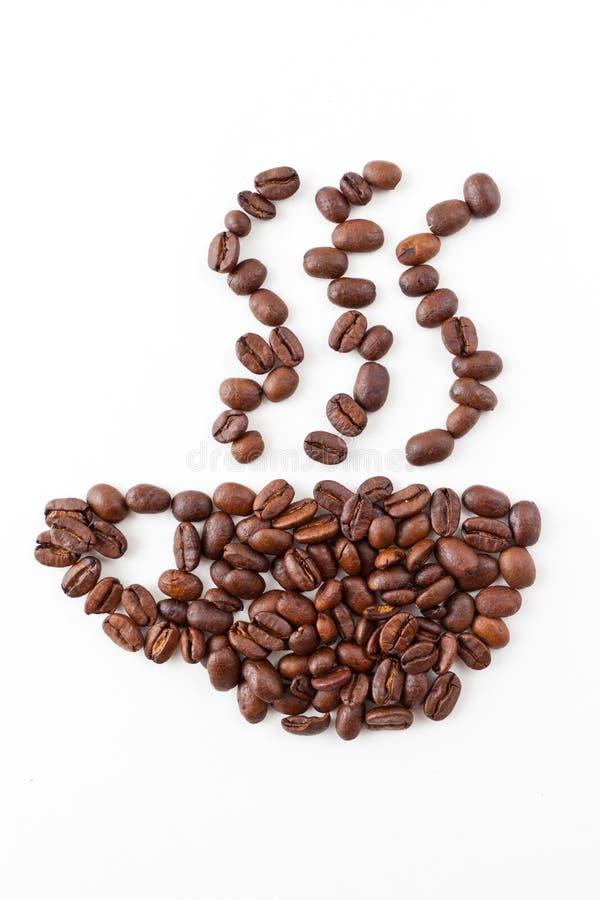 знак кофе стоковая фотография