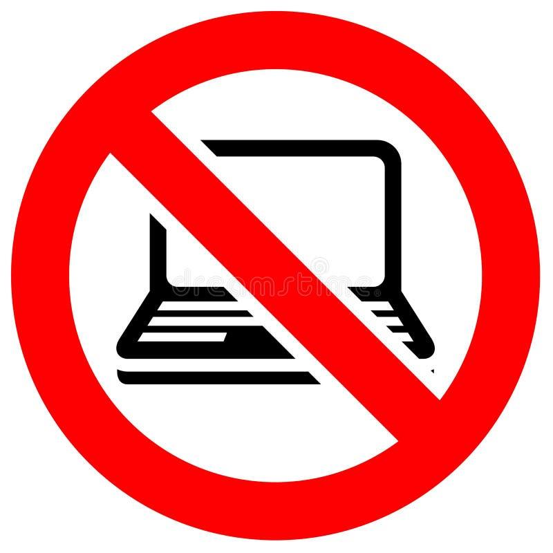 Знак красного цвета запрета бесплатная иллюстрация