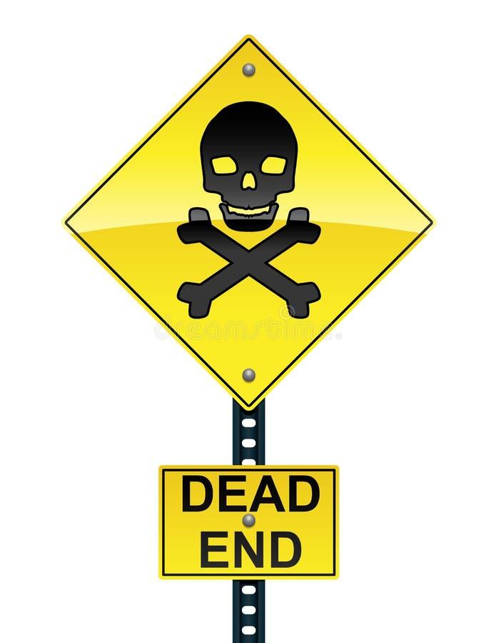 знак мертвого конца бесплатная иллюстрация