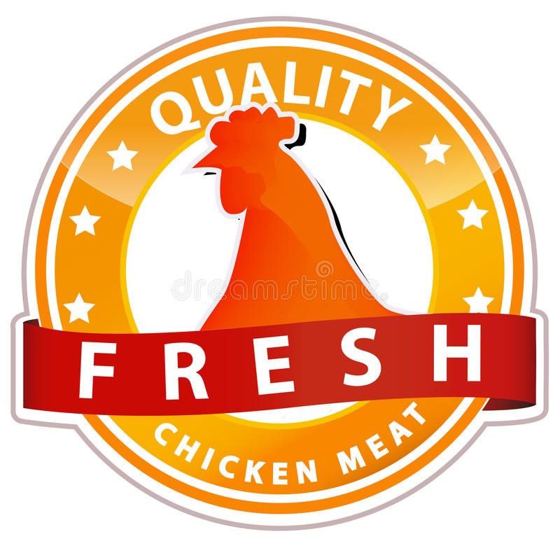 знак мяса цыпленка бесплатная иллюстрация