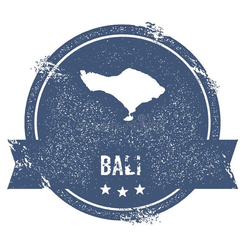 Знак логотипа Бали иллюстрация вектора