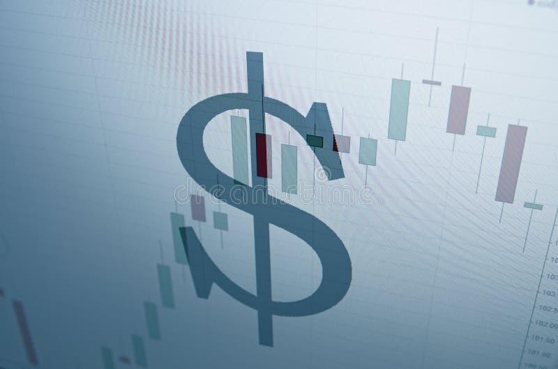 Знак доллара США стоковые фотографии rf
