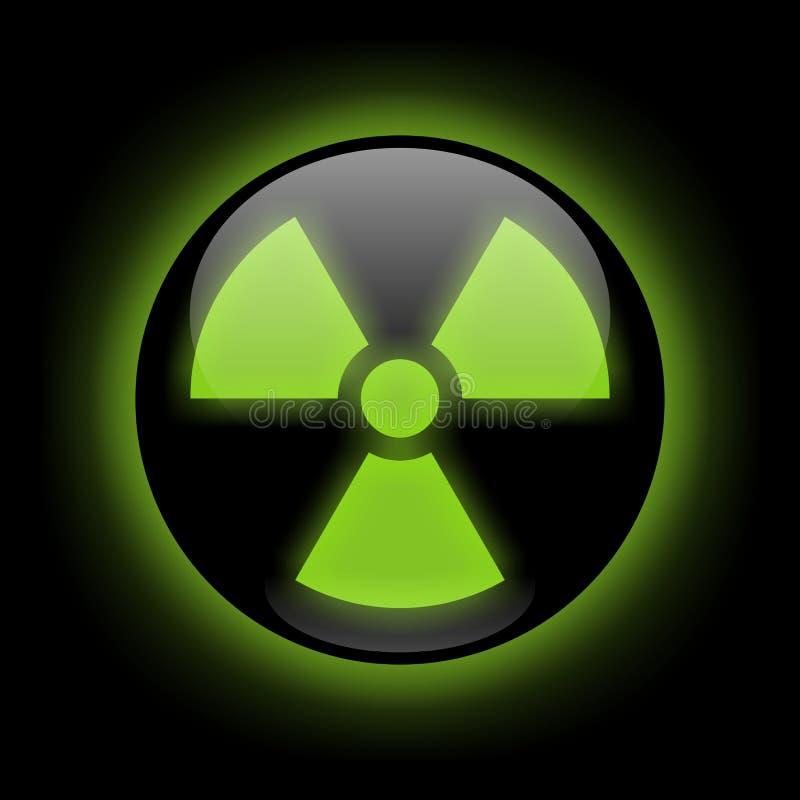 знак радиации бесплатная иллюстрация