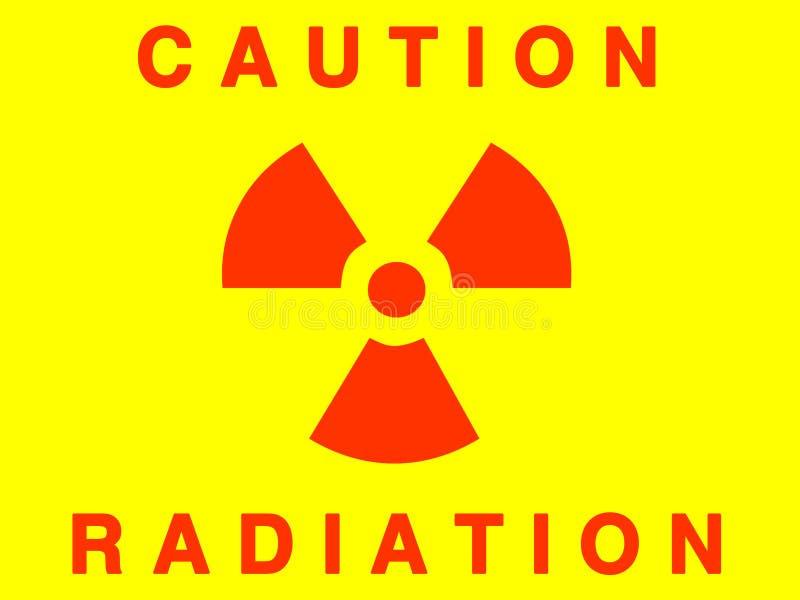 знак радиации иллюстрация вектора