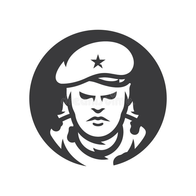 Знак силуэта вектора Кубы коммунистический революционный бесплатная иллюстрация