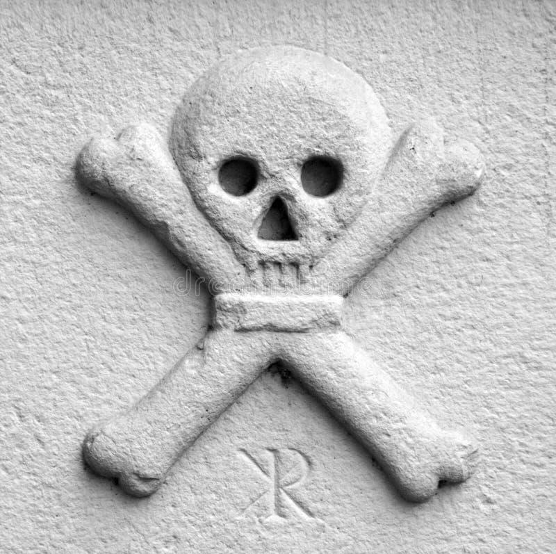 знак смерти стоковое изображение